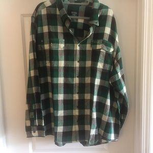 NWOT men's 3x flannel shirt